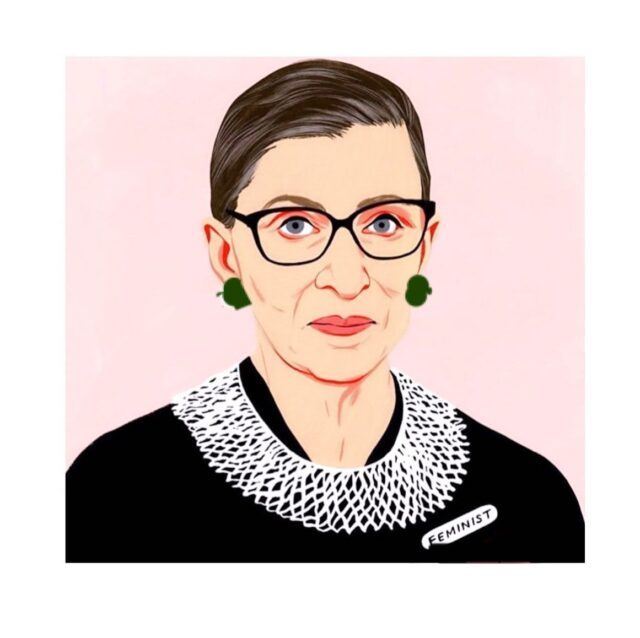 "Supreme Court's Feminist Icon   ""I wold like to be remembered as someone who used whatever talent had to do her work to the very best of her ability""  Ruth Bader Ginsburg  #feminist #supremecourtjustice #ginsberg #ruthbaderginsburg #icon #femaleicon #womenempowerment #raniakroupishoes"