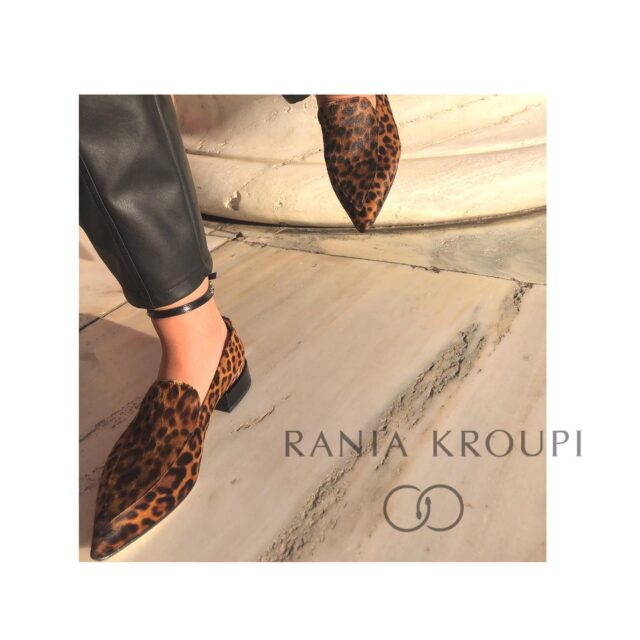 F r e e d o m . . . I feel free , I feel loved , I feel unique L o V e U n i q u e s s   R A N I A K R O U P I  Hand made Shoes for unique Important Women.  Fall in Love , this Fall  #raniakroupiluxuryshoes #handmade #loafers #Artemis with fine Italian #leopardprintponyskin #leopardloafers #Artemisloafer Artemis in Ancient Greek mythology is the Goddess of the hunt, the wild animals and nature, the youth, the moon and the chastity.  Limited production  Available in @idconceptstores @raniakroupi